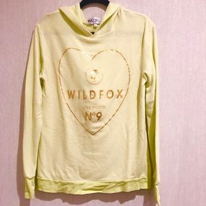 Wildfox Hooded Sweatshirt